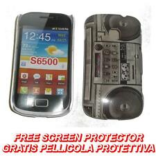 Pellicola+custodia BACK cover IMD STEREO per Samsung Galaxy mini 2 S6500