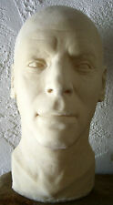 BURT LANCASTER LATEX HEAD from MOVIELAND WAX MUSEUM MOLD Sculpted by PAT NEWMAN