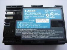 Batería original CANON LP-E6 AUTÉNTICO batería batería 7.4V 1800mAh EOS 60D