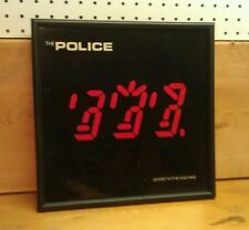 The Police: Ghost in the Machine, Framed Record Album, Excellent Condition!