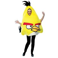 NEW Angry Birds Yellow Bird Dress Up Costume Adult Size Unisex