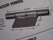 """weld-on RAMP DOOR HINGE cargo trailer1/4"""" steel with grease zerk 8-3/16"""" long"""