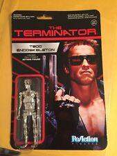 Funko ReAction: The Terminator - Chrome T-800 Endoskeleton Action Figure