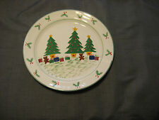 Stoneware Christmas Trees Christmas Cookie Platter or Serving Plate Maker?