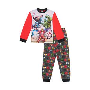 Marvel Avengers Boys Pyjama Pjs Incredible Hulk, Iron Man, Captain America,Thor