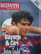 Programm 1995/96 FC Bayern München - Kaiserslautern