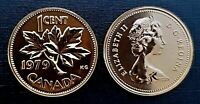 Canada 1979 Proof Like Gem UNC Small Cent Penny!!