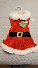 Petco Time for Joy Santa Dress for Dog Size Med