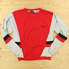 vtg 90's SPAULDING colorblock sweatshirt XL slim abstract print fresh prince
