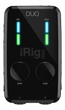 IK Multimedia iRig PRO DUO Professionali Audio e MIDI interfaccia per iPhone iPad