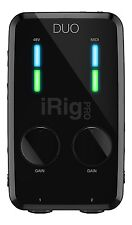 IK Multimedia iRig Pro Duo Professional Audio & MIDI Interface for iPhone iPad