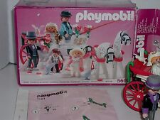 Playmobil 5601 Victorian Wedding Carriage Loose NEVER DISPLAYED Complete NICE