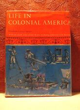 Giant Landmark Book Life in Colonial America Jamestown to Revolution Speare 1963