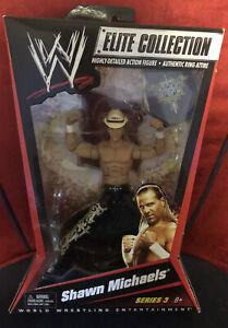 WWE Elite Series 3 HBK Shawn Michaels Brand New Unopened Rare