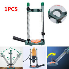 1x Adjustable Angle Electric Drill Bracket Guide Stand Holder For Grinding Punch