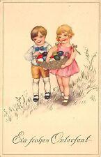 BG14577 children with  eggs ostern easter germany