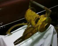 Muscle Chain saw Winch Logging Logger Lumber Jack History McCulloch Spicer Lewis