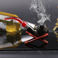 Nice Gift Vogue Noble Round Knight Durable Tobacco Smoking Pipe