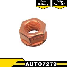 For BMW 1pc E36 E90 E10 E28 Copper Lock Nut 10 mm Exhaust Flange