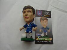 CORINTHIAN HEADLINERS 1995 MARK HUGHES CHELSEA REF PL61 FOOTBALL FIGURE + CARD