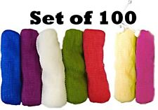 100 NYLON SOAP SAVER POUCHES | Wholesale Lot | Various Colors | Fast Shipping!