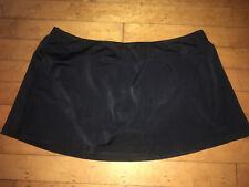 Women Black Swim Skirt Size L 12