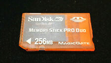 256MB Memory Stick PRO Duo Card For Sony PSP 1000 2000 3000 Console - FREE P+P
