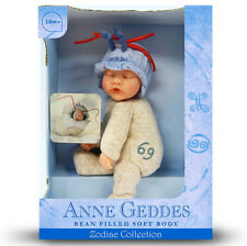ANNE GEDDES DOLLS 'ZODIAC' collection NEW in Box BABY CANCER Doll 9'' 579517