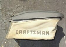 Craftsman Lawn Mower Grass Catcher Collection Bag w/ Frame & Cover