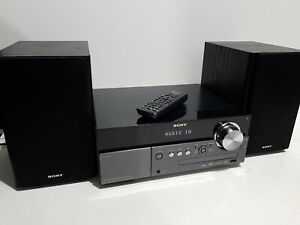 Sony CMT-MX550i Audio Micro HiFi Shelf System-CD Player DAB/FM/AM Tuner