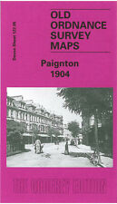 Old Ordnance Survey Map Paignton 1904 Southfield Primley Park Roundham Head