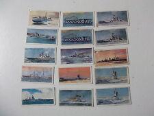 Card-Lyons Tea Trading Cards HMS 1902-1962  x15