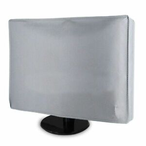"""Computer Monitor Dust Cover 21""""/24""""/28""""/34"""" Home PC Desktop LCD Screen Protector"""