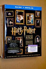 Harry Potter Blu Ray 8 Movie Collection Limited Edition 16 Disc Set 2016 *NEW*