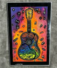 Rokoko Wall Art Lacquer Guitar Sing Austin City Limits ACL Festival Plaque