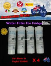 4 X Fisher Paykel Replacement Fridge Water Filter 836848 Aqua-Plus generic part
