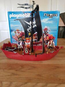 Playmobil 5298 Pirate Ship Skull & Bones Corsair  Pirates Boxed
