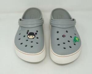 Crocs Slip On Comfort Clog Sandals Gray US Men's 8/Women's 10
