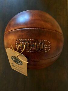 Retro Reborn Vintage Style Real Leather Basketball