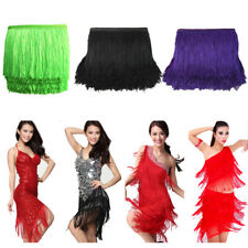 10 Metter Fringe Tassel Trim Polyester Sew Latin Dress DIY Garment Accessories