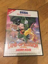 Sega Master Sistema tierra de ilusión protagonizada por Mickey Mouse