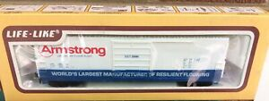 HO Life-Like Armstrong Flooring LANCASTER 50' Boxcar NOS