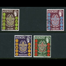 ST VINCENT 1964 Scouts. SG 221-224. Fine Used. (AW487)