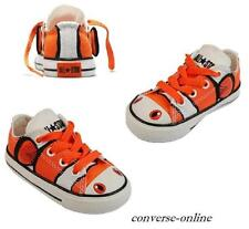BABY Toddler Boy CONVERSE All Star NEMO CLOWN FISH OX Trainer Shoes SIZE 19 UK 3