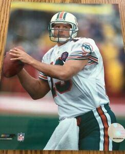 Dan Marino Miami Dolphins Photofile Licensed NFL Photo 8x10 White Jersey