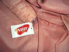 "14 yards x 120"" ADO Goldkante Sheer Draperies Fabric Dusty Pink Extra Long 120"""