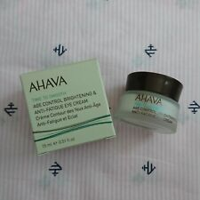 Ahava Age Control Brightening AND Anti-Fatigue Eye Cream 0.51oz/15ml NEW SEALED