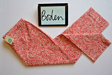 BNWT BODEN Red White Floral Cropped Richmond Trousers Pants Womens 20R W40 L27