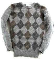Clan Douglas Pullover Sweater Kaschmir Grau Gr.XL wie  2 XL