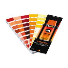 Molotow Premium Real Colour Card 275+ Colours